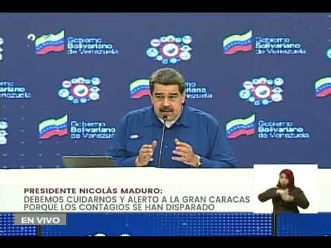 Evalúan excluir a Caracas de flexibilización de noviembre y diciembre por aumento de Covid-19