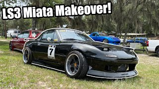 homepage tile video photo for 6.2L LS Miata Gets a New Look and More Upgrades!! (It's SO Much Better Now!)