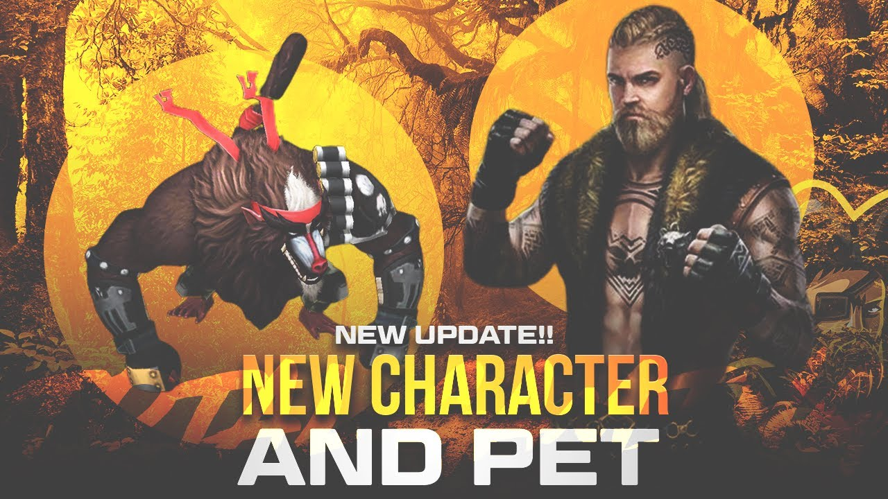 New Character Sverr and Pet Beaston Is OverPower New Update - Garena Free Fire 2020