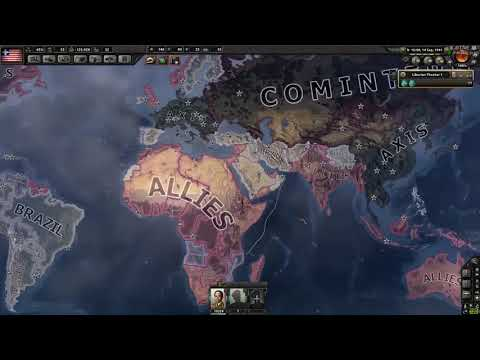 Liberia World Conquest? [Coring States,New World Order] / Hearts of Iron IV