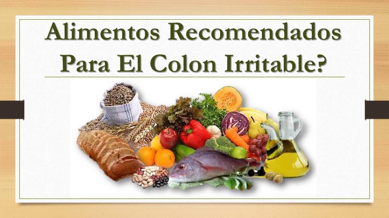 alimentos permitidos en intestino irritable