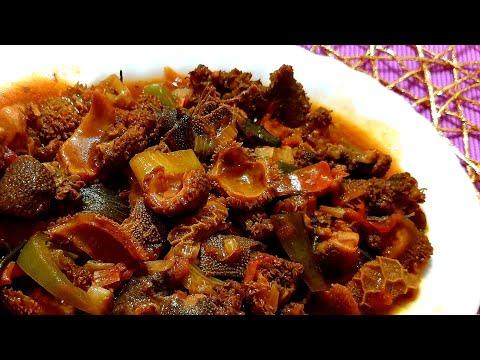 How to cook tripe/Beef offals recipe/mogodu/matumbo recipe/South African tripe recipe