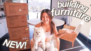 BUILDING NEW FURNITURE + SHOPPING AT TARGET | MOVING TO LA AT 18 PART 10