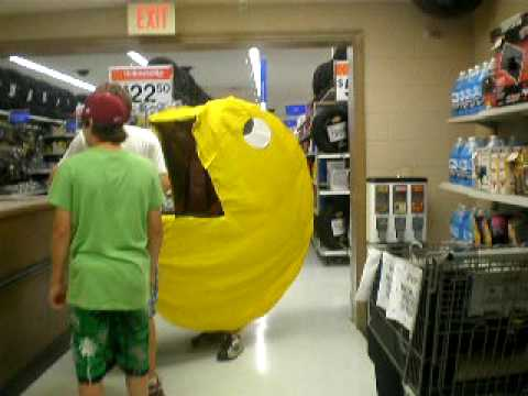 Pac Man In Walmart