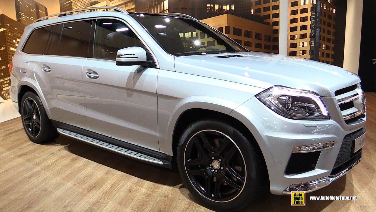 2016 Mercedes Benz Gl500 4matic Exterior And Interior