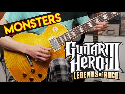Monsters | Matchbook Romance Solo De Guitarra - Guitar Hero 3