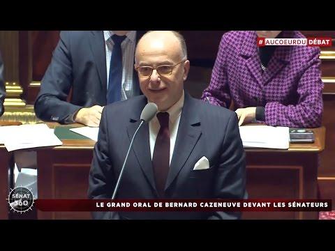 Sénat 360 - Le grand oral de Bernard Cazeneuve / Gouvernement Cazeneuve (14/12/2016)