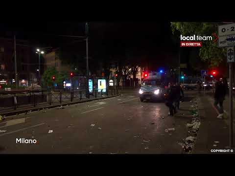 LIVE Inter vince Scudetto, festeggiamenti a Milano: diretta video