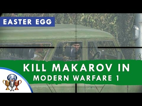 Call of Duty 4 Modern Warfare Remastered - Time Paradox (Killing Vladimir Makarov in MW1 Easter Egg)
