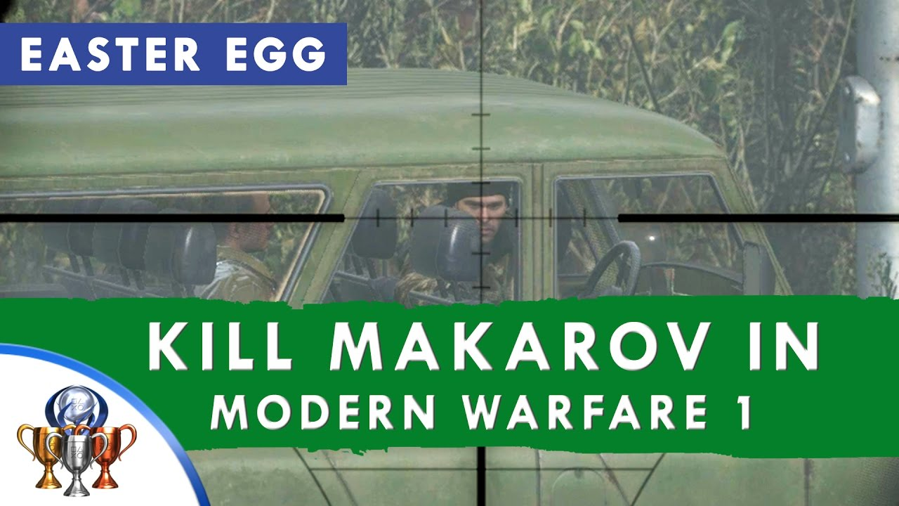 Call Of Duty: Modern Warfare Remastered' Easter Egg Lets You