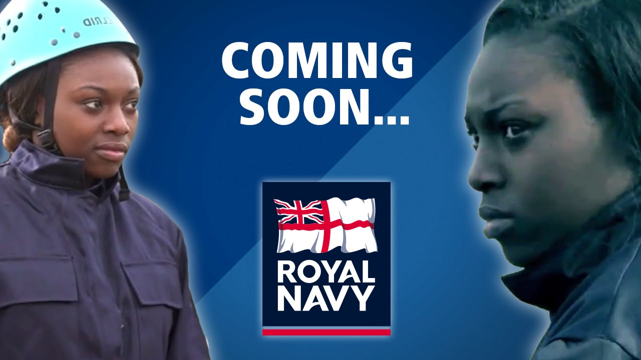 Patricia Bright joins the Royal Navy!! - #lifewithoutlimits