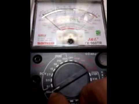 Điện tử căn bản-phần 4-Đo Cường Độ Dòng Điện
