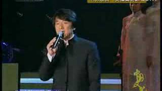 Jackie chan perform endless love on stage
