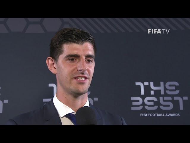 Thibaut Courtois Interview - The Best FIFA Goalkeeper (ENGLISH)