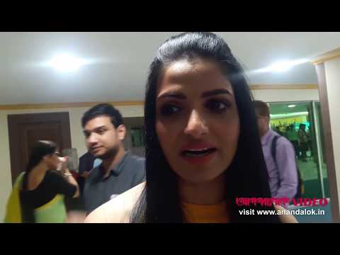 Tanushree Chakraborty talking about Mainak Bhaumik's Chawlochitro Circus