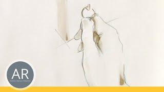Hände zeichnen - Tutorial Hand zeichnen. Bewegung: aufhängen
