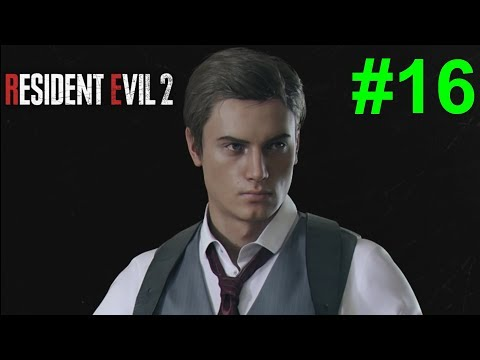 Resident Evil 2 Remake/Biohazard RE2 - [Walkthrough Part 16 - Noir Leon] [Parking Card and Mr. X] |