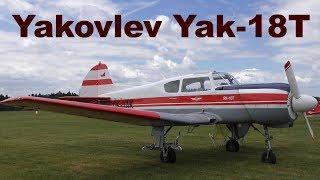 Yakovlev Yak-18T, Airshow Chotebor 2017