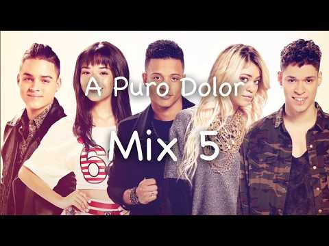 A Puro Dolor - Mix 5 (Lyrics)