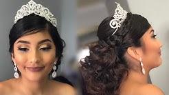 Quinceañera Glam   Client Makeup & Hair Tutorial