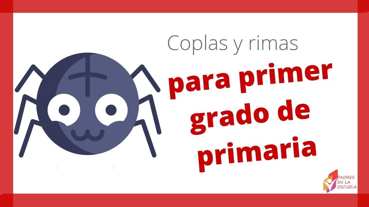 Coplas y rimas para primer grado de primaria - YouTube