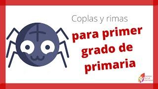Coplas y rimas para primer grado de primaria