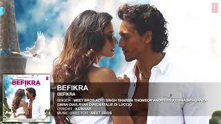 Befikra / song tiger shroff)  disha pnati/ audio mp 3