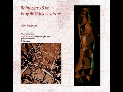Rhinoceros 5 ve Vray İle Görselleştirme