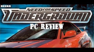 Need for Speed Underground PC review