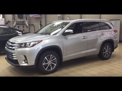 2017 toyota highlander xle review youtube. Black Bedroom Furniture Sets. Home Design Ideas