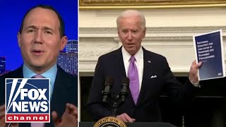 Raymond Arroyo: Maskless Biden brags about mask mandate