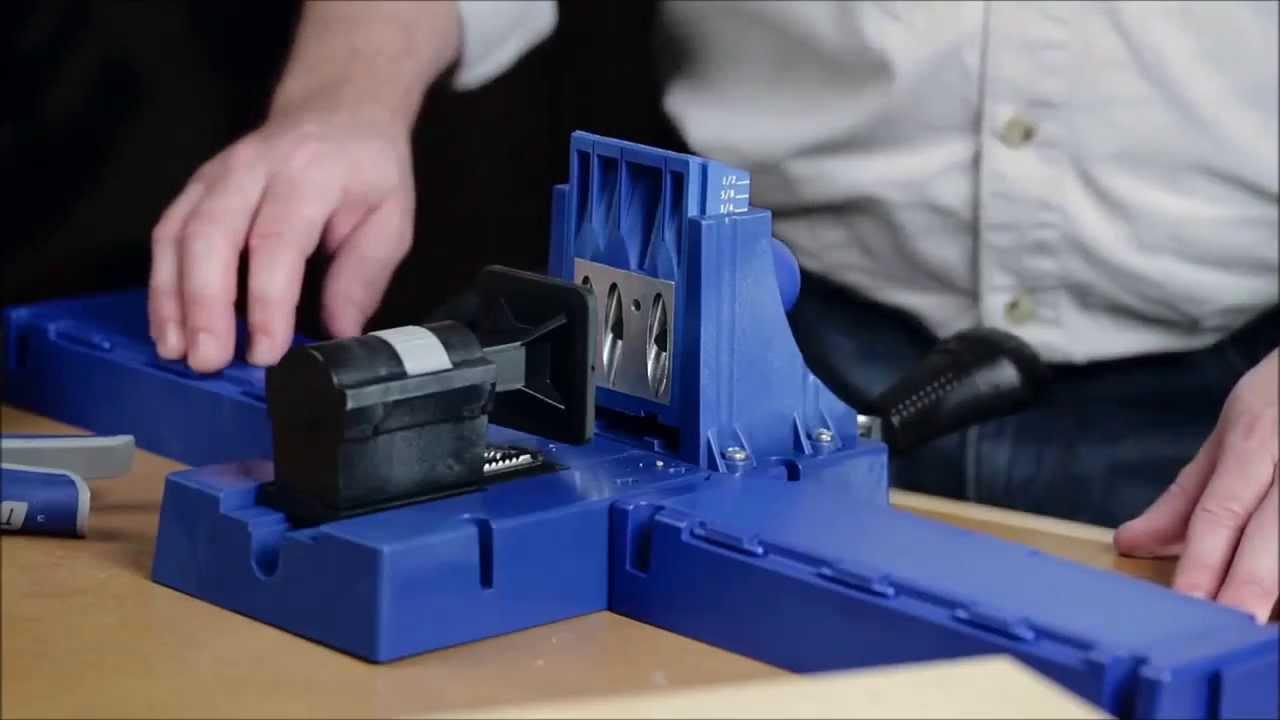 Kreg Tool K5 Pocket Hole Jig Youtube