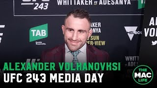 Alexander Volkanovski: 'I always knew Max Holloway wasn't invincible'