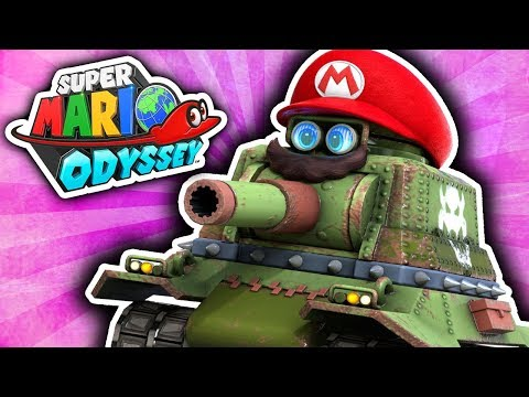 PIXEL THE TANK ENGINE!!! (Super Mario Odyssey #3)