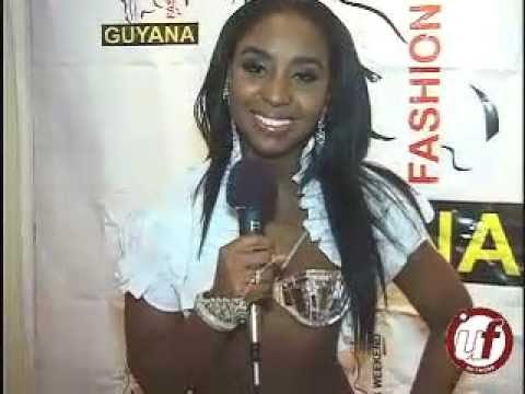 Jeneil David promotes Guyana Fashion Week in NYC