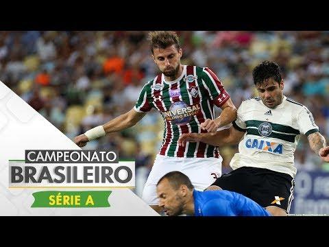 Melhores Momentos - Fluminense 2 x 2 Coritiba - Campeonato Brasileiro (09/11/2017)