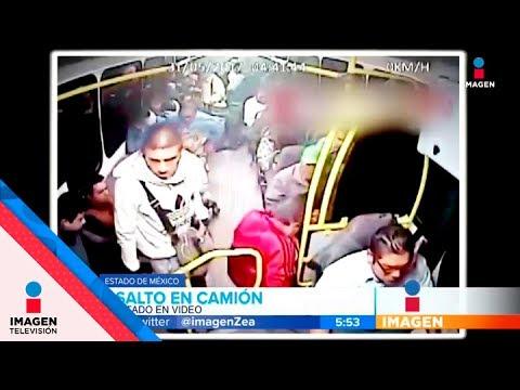 Otro asalto en camión del Estado de México  | Noticias con Francisco Zea