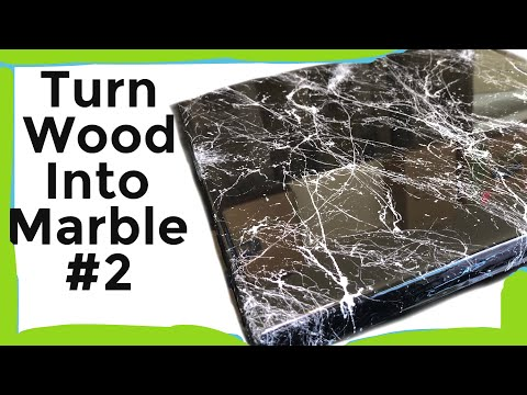 Turn Plywood into Marble, DIY Epoxy ( 2019 )