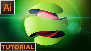 Create an abstract 3D logo - Adobe Illustrator