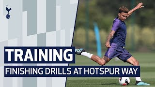 TRAINING | FINISHING DRILLS | ft. Kane, Son, Dele, Lucas & Lo Celso