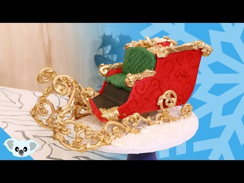 CHRISTMAS CAKE! SANTA'S SLEIGH CAKE| Amazing Holiday Ideas | Koalipops