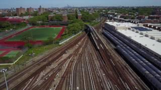 Train Yard MTA @ Coney Island