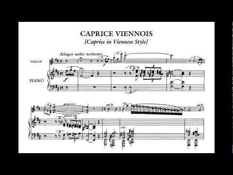 (Hassid) Kreisler: Caprice Viennois.