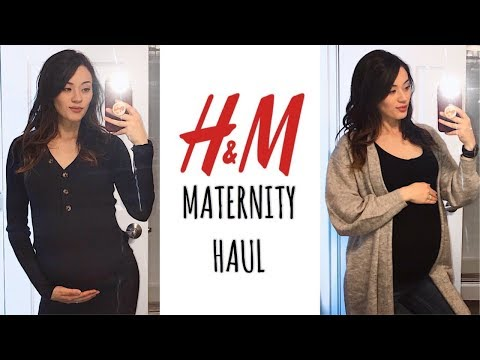 H&M MATERNITY TRY-ON/HAUL | FALL 2019 + Non-maternity Wear I Love