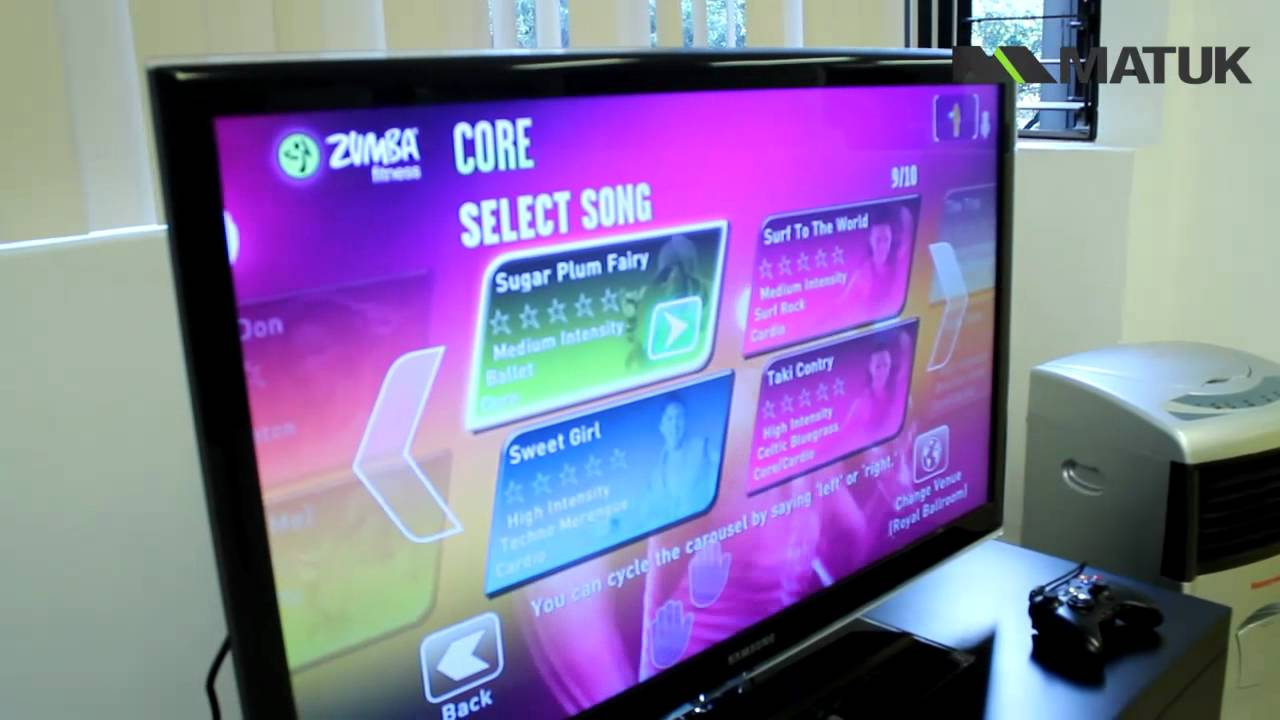Probando Zumba Fitness Core Para Kinect Youtube