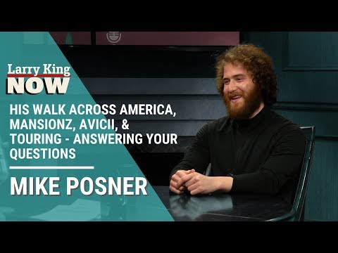His Walk Across America, Mansionz, Avicii, & Touring - Mike Posner Answers Your Questions