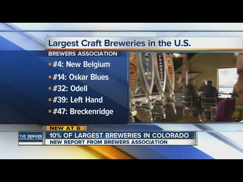 5 Colorado breweries on list of Top 50 U.S. craft breweries
