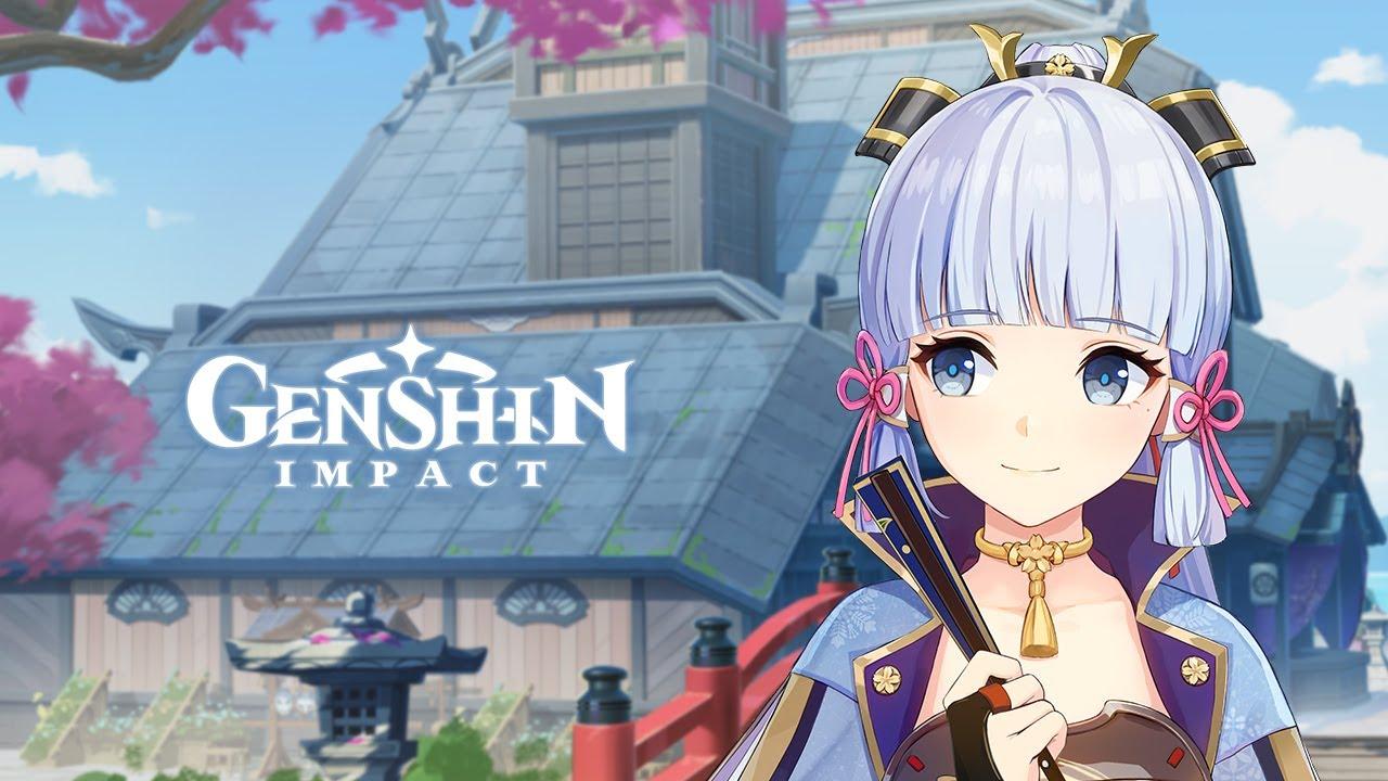 "Download Character Teaser - ""Kamisato Ayaka: The Homeward Heron""   Genshin Impact"