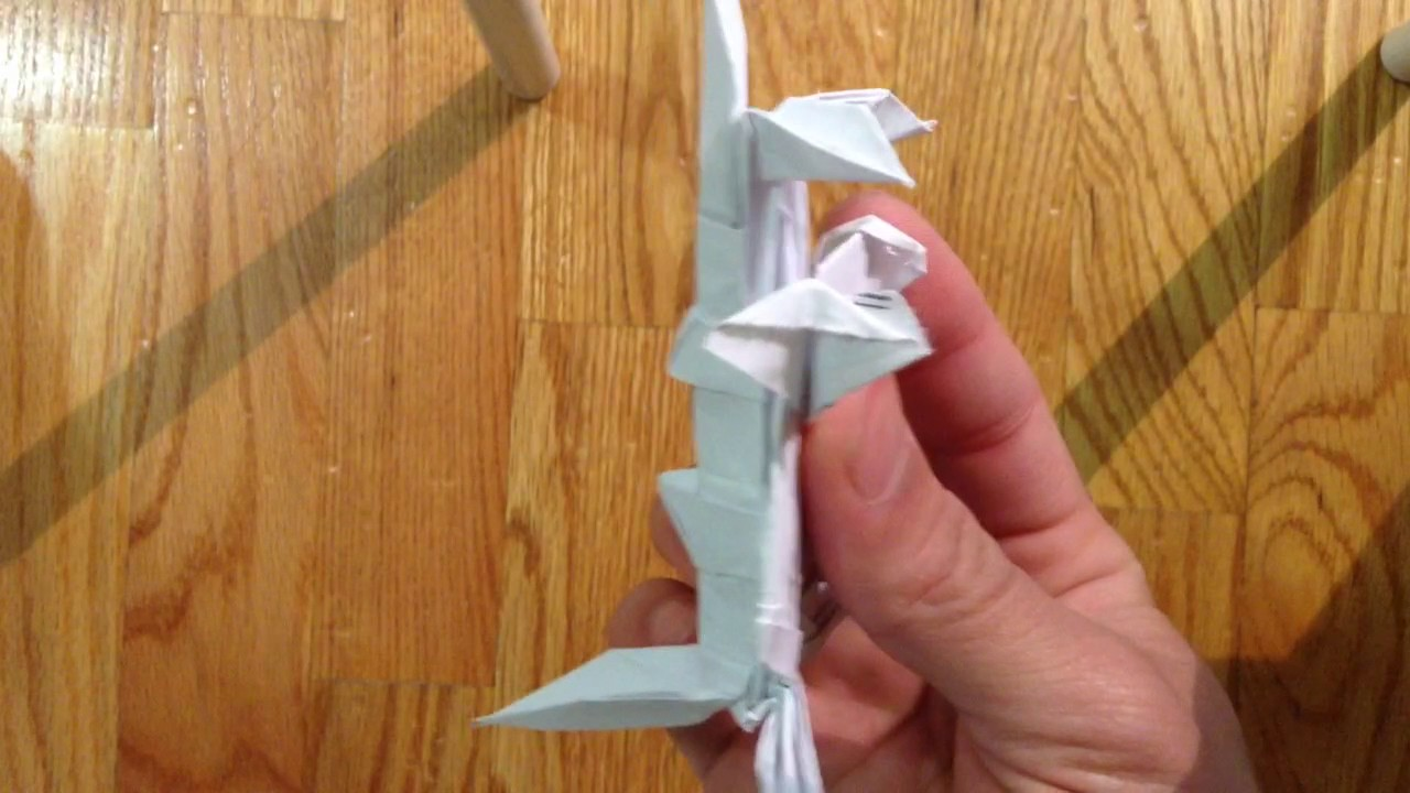 Origami F1 Race Car Part 3 Of