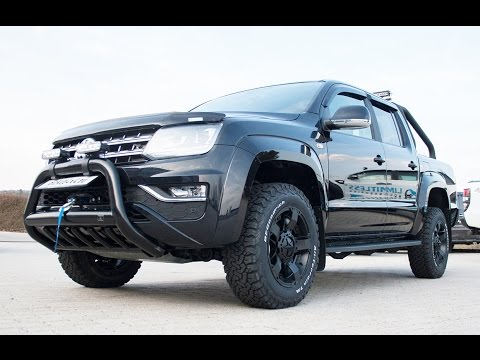 Limitless Accessories (R) - VW Amarok V6 - EXPLORER Edition by pickup4x4.eu